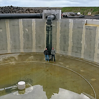 The world's most sustainable Arctic Char farm in Iceland